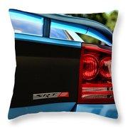 Dodge Charger Srt8 Rear Throw Pillow