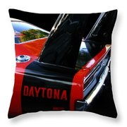 Dodge Daytona Fin 02 Throw Pillow