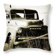 Dodging The Wires  Throw Pillow