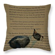 Dog Prayer Throw Pillow