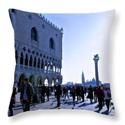 Doge's Palace Throw Pillow