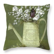 Dogwood Cuttings  Throw Pillow