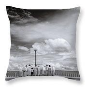 Doi Suthep In Chiang Mai Throw Pillow