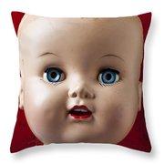 Dolls Haed Throw Pillow