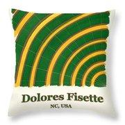 Dolores Fisette Throw Pillow