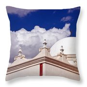 Dome Of The Mission San Xavier Throw Pillow