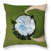 Dome Of The Sky Throw Pillow
