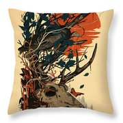 Dominate Throw Pillow