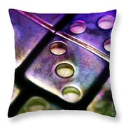 Domino Theory Throw Pillow