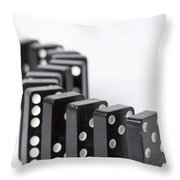 Dominos S 1 Throw Pillow