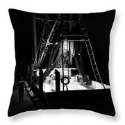 Done For The Night Throw Pillow