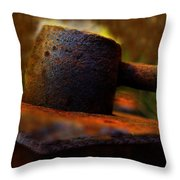 Done Throw Pillow by Shirley Sirois