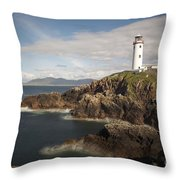 Donegal Lighthouse Throw Pillow
