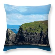 Donegal Seascape Throw Pillow