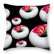 Donut Overload Throw Pillow