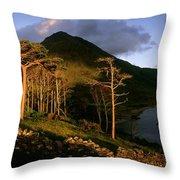 Doo Lough Pass, County Mayo, Ireland Throw Pillow