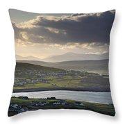 Dooagh, Achill Island, Co Mayo, Ireland Throw Pillow