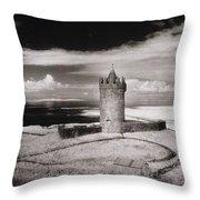 Doonagore Tower Throw Pillow