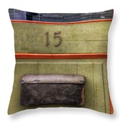 Door 15 Throw Pillow