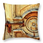 Door Study Taos New Mexico Throw Pillow