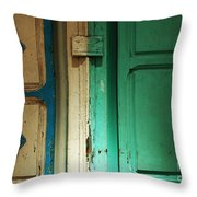 Doorway In Tunisia 4 Throw Pillow