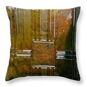 Doorway To Autumn Throw Pillow