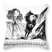 Dor�: Opera Performers Throw Pillow