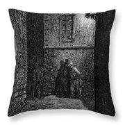 Dore: London, 1872 Throw Pillow