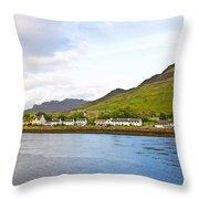 Dornie Village Throw Pillow