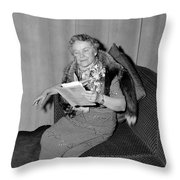 Dorothy Canfield Fisher Throw Pillow