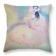 Dorothy Dancer Throw Pillow