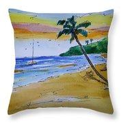 Dorsch Beach Throw Pillow