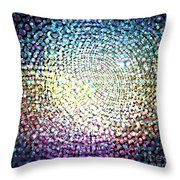 Dots Colors Throw Pillow