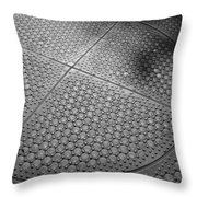 Dots Of Central Park Throw Pillow