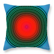 Dots X-ray Throw Pillow