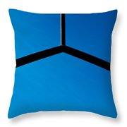 Double Blessed Throw Pillow