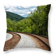 Double Blind Throw Pillow
