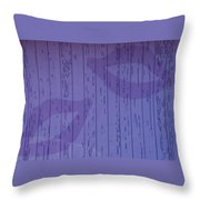 Double Lips Throw Pillow