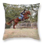 Double Up Hill Jump Throw Pillow