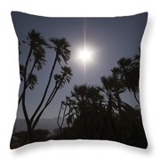 Doum Palm Or Gingerbread Tree Throw Pillow
