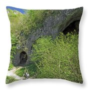 Dove Holes - Dovedale Throw Pillow