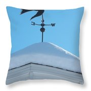 Dove Weather Vane Throw Pillow