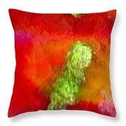 Down By The Pond Throw Pillow