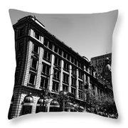 Down Hope Street  Throw Pillow