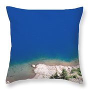 Down To The Abyss Throw Pillow