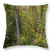 Down To The Water. Throw Pillow