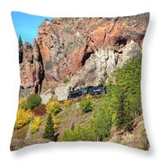 Down Windy Point Throw Pillow