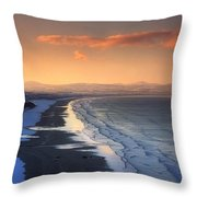 Downhill Strand, Co Derry, Ireland Throw Pillow