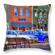 Downtown Georgetown Throw Pillow
