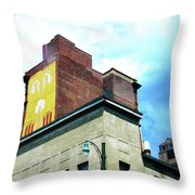 Downtown Memphis Throw Pillow